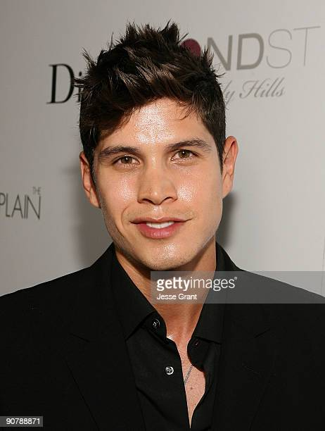 Actor JD Pardo arrives on the red carpet at the Los Angeles premiere of The Burning Plain at the Thompson Hotel on September 14 2009 in Beverly Hills...