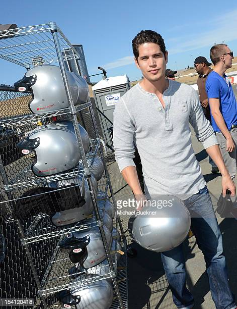 Actor JD Pardo attends the Audi Sportscar Experience at the Speedway at Sonoma on October 13 2012 in Sonoma California