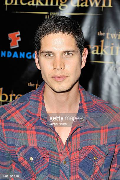 Actor JD Pardo attends The Twilight Saga Breaking Dawn Part 2 VIP ComicCon Celebration Sponsored by Fandango at Float in the Hard Rock Hotel on July...