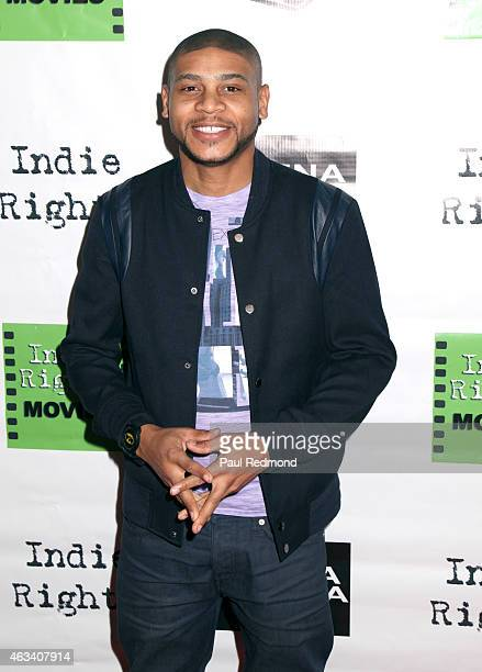 """Actor JD Williams attends """"An American In Hollywood"""" Gala Premiere at Arena Cinema Hollywood on February 13, 2015 in Hollywood, California."""