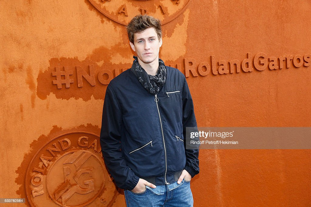 Actor Jean Baptiste Meunier attends the 2016 French Tennis Open - Day Two at Roland Garros on May 23, 2016 in Paris, France.