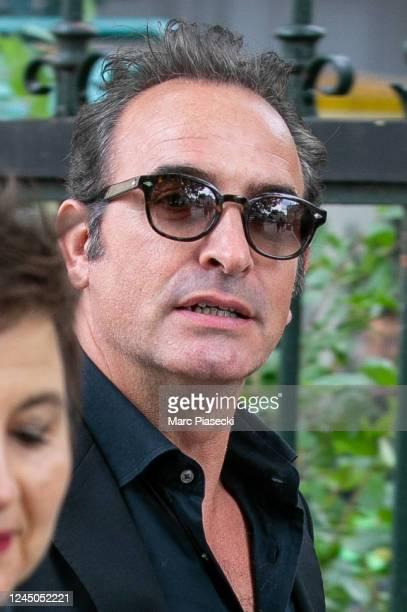 Actor Jean Dujardin attends Guy Bedos' funeral at Eglise de Saint-Germain-des-Pres on June 04, 2020 in Paris, France.