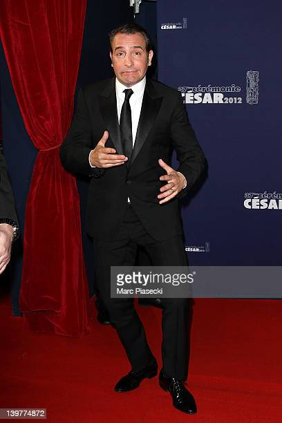 Actor Jean Dujardin attends the 37th Cesar Film Awards at Theatre du Chatelet on February 24 2012 in Paris France