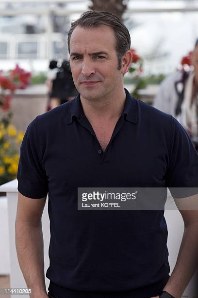 Actor Jean Dujardin attends 'The Artist' Photocall at the Palais des Festivals during the 64th Cannes Film Festival on May 15 2011 in Cannes France