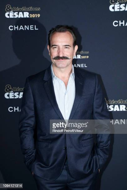 Actor Jean Dujardin attends the 'Cesar Revelations 2019' at Le Petit Palais on January 14 2019 in Paris France