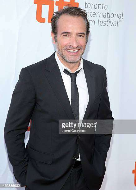 Actor Jean Dujardin attends The Connection premiere during the 2014 Toronto International Film Festival at Roy Thomson Hall on September 12 2014 in...