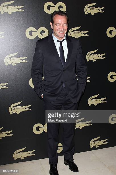 Actor Jean Dujardin attends the 'GQ Man Of The Year 2011' photocall at Hotel Ritz on January 18 2012 in Paris France