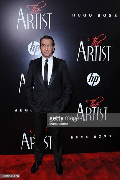 Actor Jean Dujardin attends the premiere of The Artist at the Paris Theater on November 17 2011 in New York City