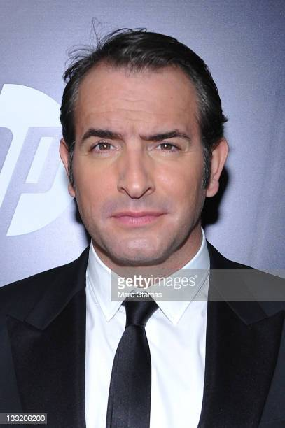 """Actor Jean Dujardin attends the premiere of """"The Artist"""" at the Paris Theater on November 17, 2011 in New York City."""