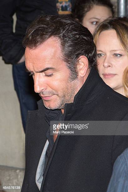 Actor Jean Dujardin attends the 'The Wolf of Wall Street' Paris Premiere at Cinema Gaumont Opera on December 9 2013 in Paris France