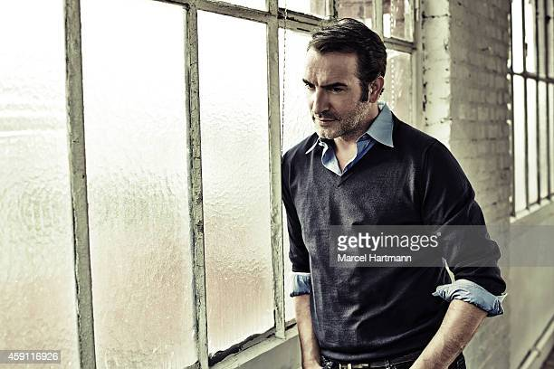 Actor Jean Dujardin is photographed for Self Assignment on October 21 2014 in Paris France