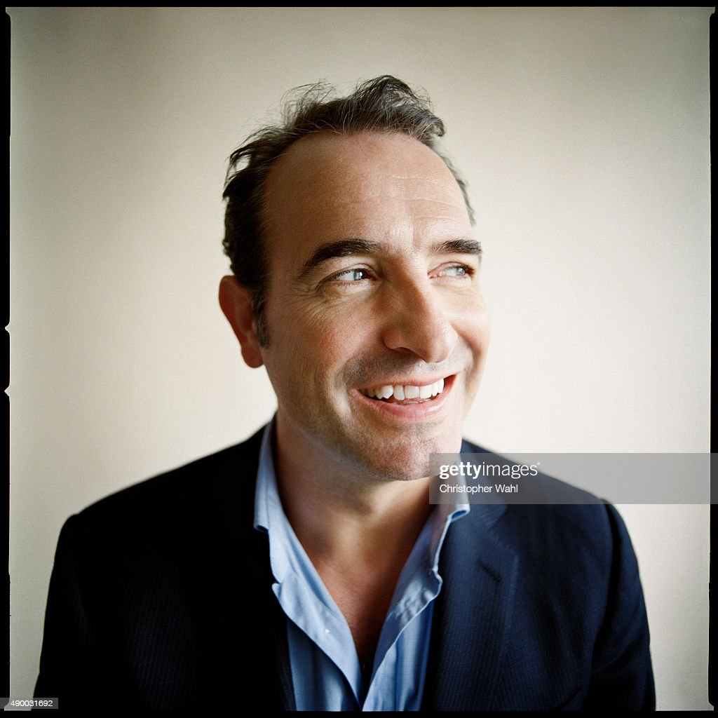 Actor Jean Dujardin is photographed for The Globe and Mail on September 15, 2015 in Toronto, Ontario.