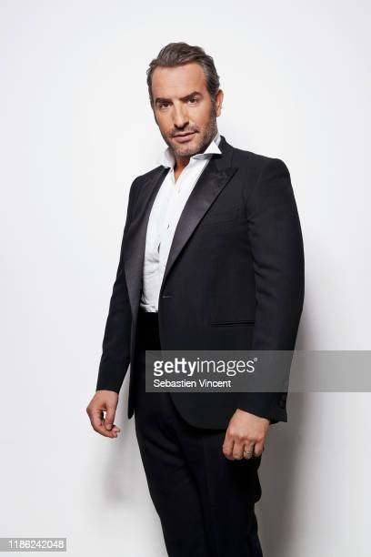 Actor Jean Dujardin poses for a portrait on January 3, 2013 in Paris, France.