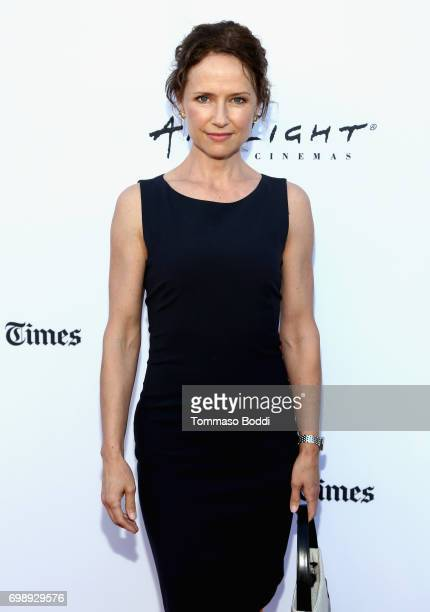 Actor Jean Louisa Kelly attends the screening of The Bachelors during the 2017 Los Angeles Film Festival at Arclight Cinemas Culver City on June 20...