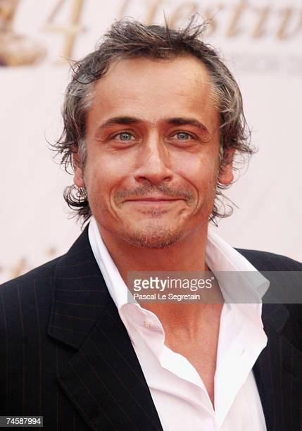 Actor Jean Michel Tinivelli attends the TF1 premiere screening of 'Mystere' on the third day of the 2007 Monte Carlo Television Festival held at...