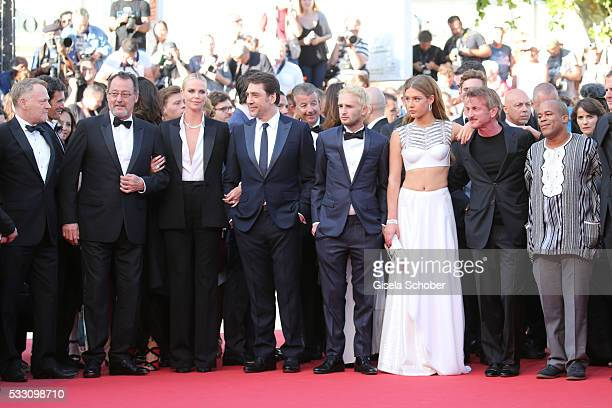 Actor Jean Reno actress Charlize Theron actor Javier Bardem Hopper Jack Penn actress Adele Exarchopoulos director Sean Penn and actor Zubin Cooper...