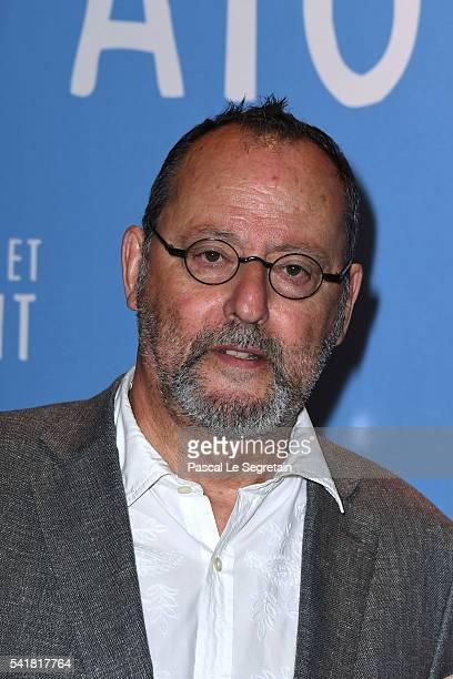 Actor Jean Reno attends the L'Aigle et l'enfant Paris premiere at Gaumont Capucines on June 19 2016 in Paris France