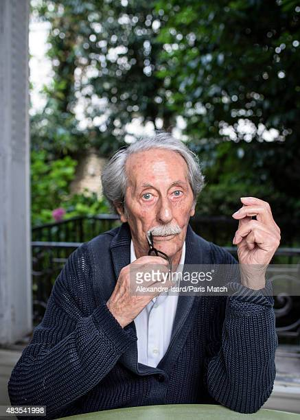 Actor Jean Rochefort is photographed for Paris Match on July 1 2015 in Paris France