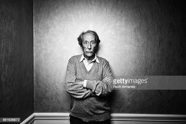 Actor Jean Rochefort is photographed for Self Assignment on October 3 2015 in Dinard France