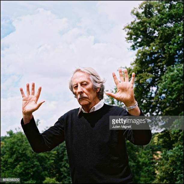 Actor Jean Rochefort is photographed for Self Assignment on September 24 2008 in Grosrouvre France