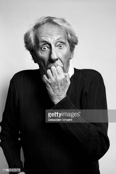Actor Jean Rochefort poses for a portrait on February 2, 2013 in Paris, France.