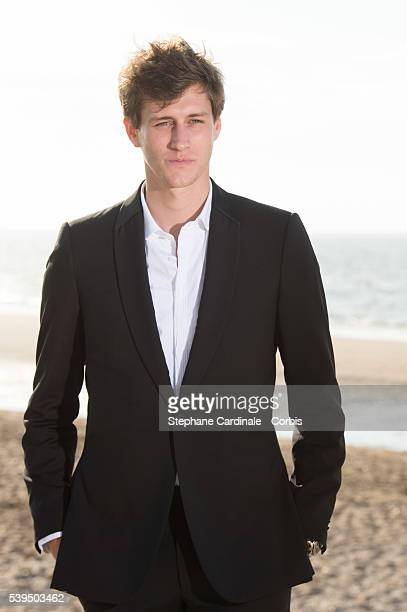 Actor JeanBaptiste Maunier attends a photocall during the 30th Cabourg Film Festival on June 11 2016 in Cabourg France