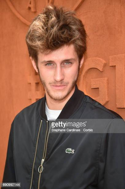 Actor JeanBaptiste Maunier attends the 2017 French Tennis Open Day Four at Roland Garros on May 31 2017 in Paris France