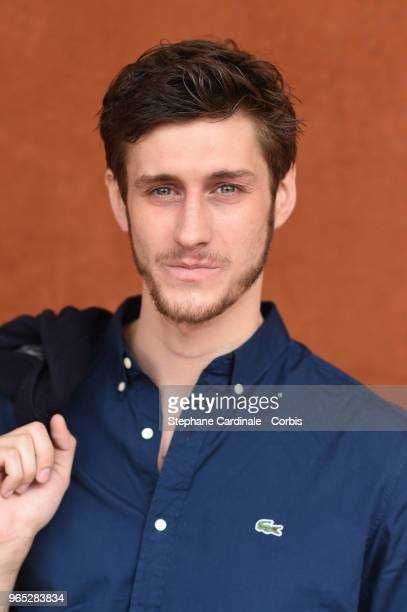 Actor JeanBaptiste Maunier attends the 2018 French Open Day Six at Roland Garros on June 1 2018 in Paris France
