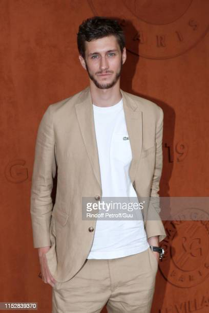 Actor JeanBaptiste Maunier attends the 2019 French Tennis Open Day Six at Roland Garros on May 31 2019 in Paris France