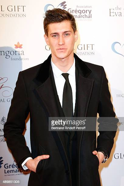Actor JeanBaptiste Maunier attends the 'Global Gift Gala' 2014 Charity Dinner at the Four Seasons Hotel on May 12 2014 in Paris France