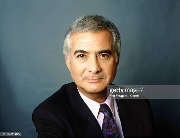 Actor JeanClaude Brialy poses during a portrait session on June 24 1994 in Paris France