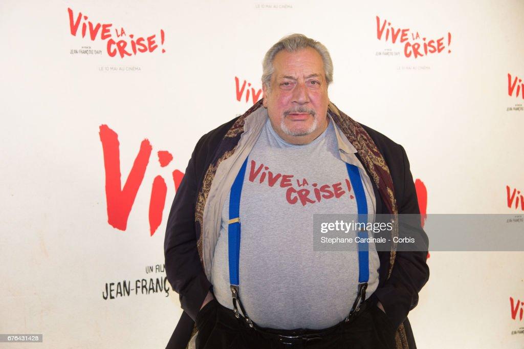 """""""Vive La Crise"""" Paris Premiere At Cinema Max Linder"""