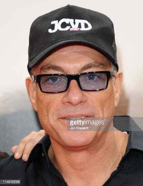 "Actor Jean-Claude Van Damme arrives at the Los Angeles Premiere ""Kung Fu Panda 2"" at Grauman's Chinese Theatre on May 22, 2011 in Hollywood,..."