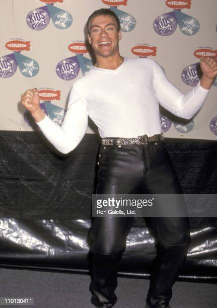 Actor JeanClaude Van Damme attends the 10th Annual Nickelodeon's Kids' Choice Awards on April 19 1997 at Olympic Auditorium in Los Angeles California