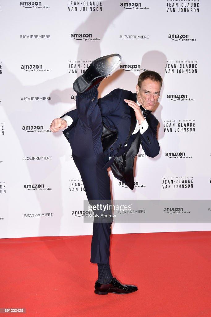 """Amazon TV Serie """"Jean Claude Van Jonhson"""" Paris Premiere At Le Grand Rex"""