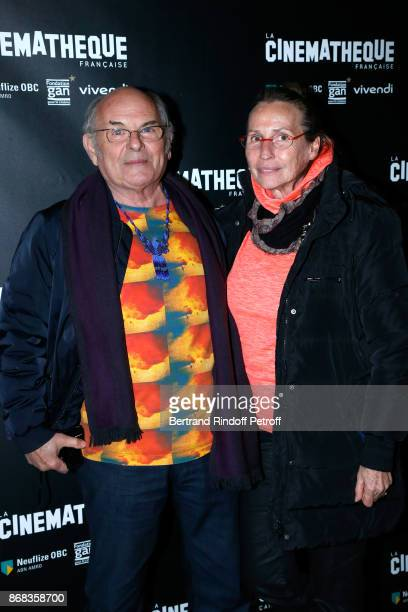 Actor JeanFrancois Stevenin and his wife Claire attend the Tribute to Roman Polanski Held with a Retrospective of the Director's Work at Cinematheque...