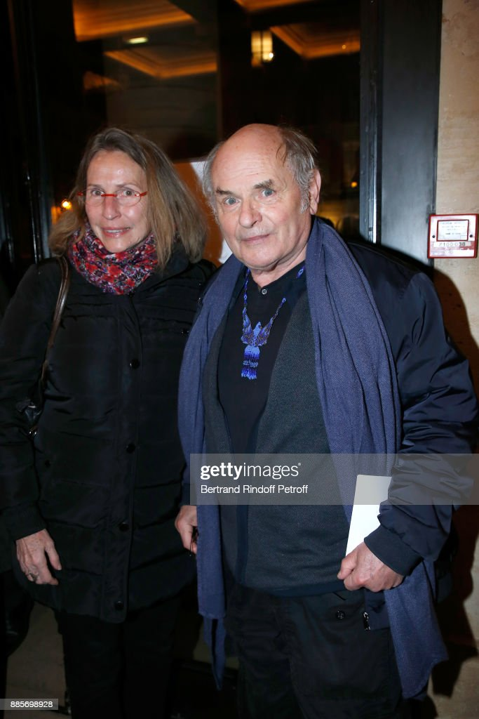 Tribute To Actress Jeanne Moreau At Theatre National de L'Odeon In Paris