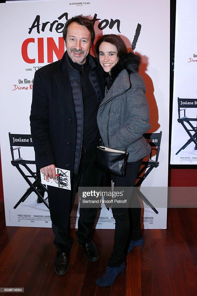 """Arrete Ton Cinema"" Paris Premiere At Cinema Publicis"