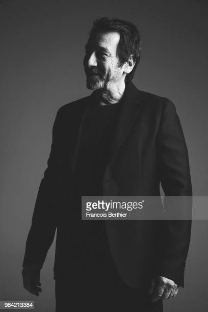 Actor JeanHugues Anglade is photographed for Self Assignment on January 2016 in Paris France
