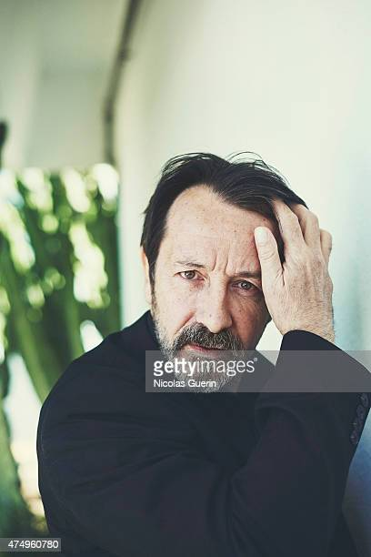 Actor JeanHugues Anglade is photographed on May 20 2015 in Cannes France