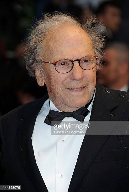 """Actor Jean-Louis Trintignant attends the """"Amour"""" premiere during the 65th Annual Cannes Film Festival at Palais des Festivals on May 20, 2012 in..."""