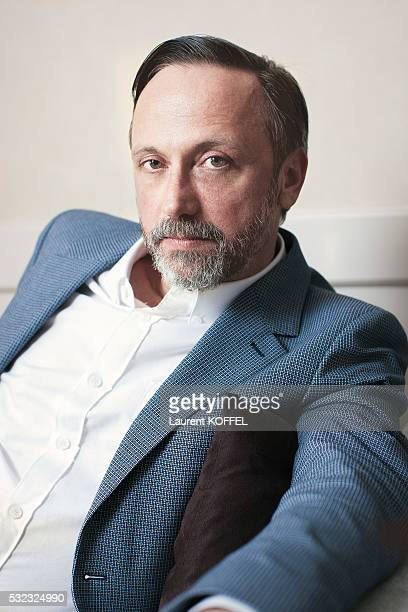 Actor JeanLuc Vincent is photographed for Self Assignment on May 13 2016 in Cannes France