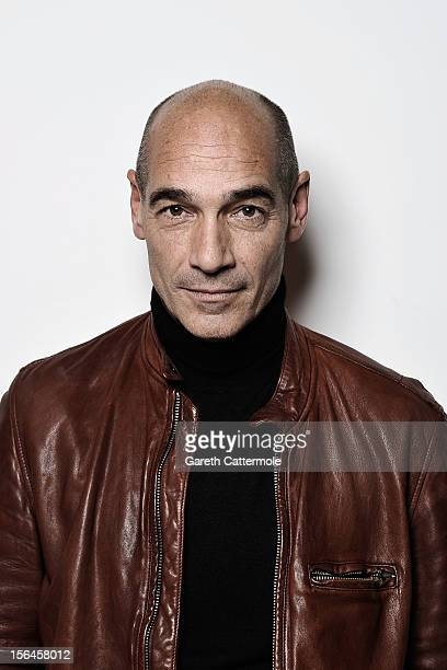 Actor JeanMarc Barr during a Portrait Session at the 7th Rome Film Festival at the Auditorium Parco Della Musica on November 15 2012 in Rome Italy