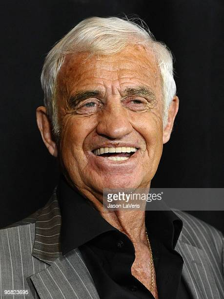 Actor JeanPaul Belmondo attends the 35th annual Los Angeles Film Critics Association Awards at InterContinental Hotel on January 16 2010 in Century...