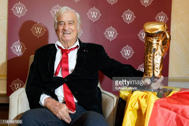 Actor JeanPaul Belmondo attends the Golden Gloves Ceremony on October 18 2019 in Brussels Belgium