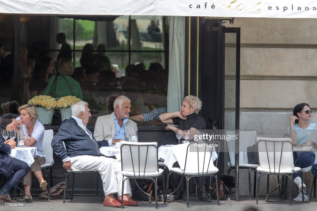 Jean-Paul Belmondo Sighting In Paris