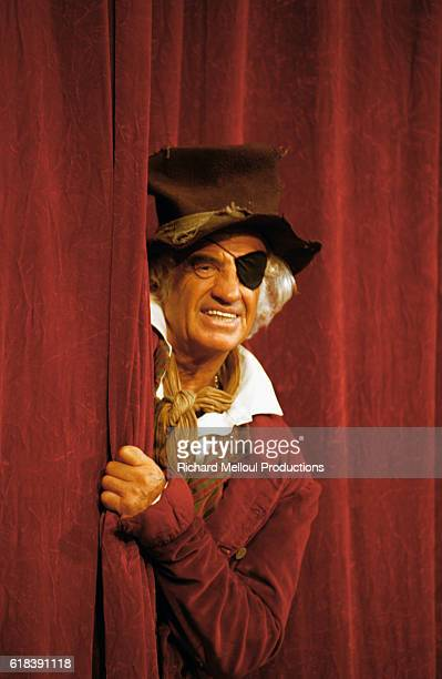 Actor JeanPaul Belmondo performing in Frederick by EricEmmanuel Schmitt