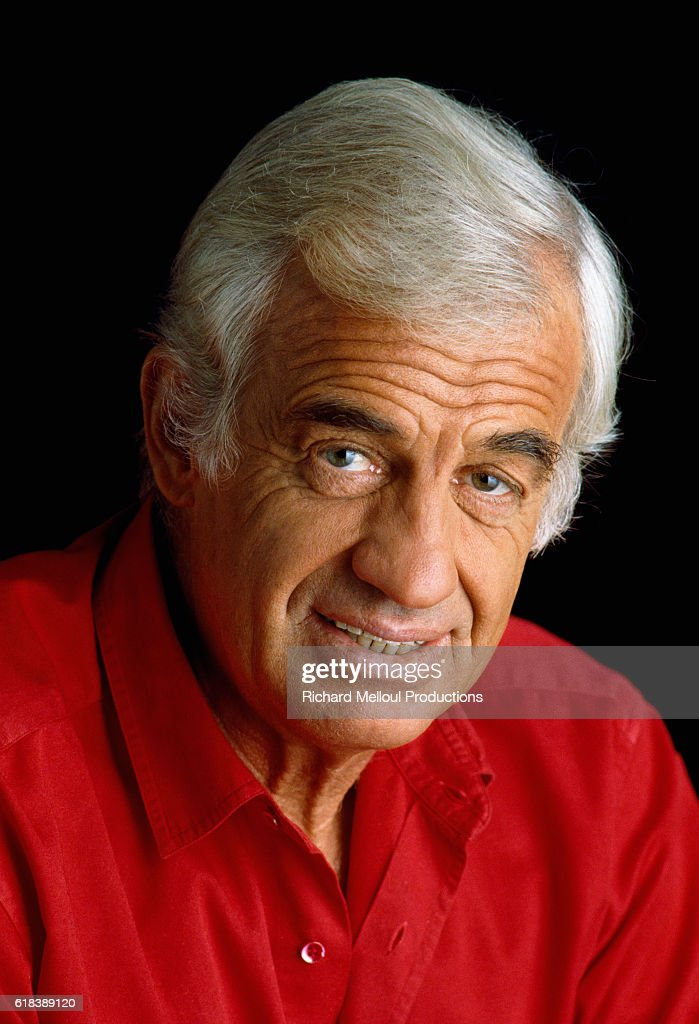 Actor Jean-Paul Belmondo : News Photo