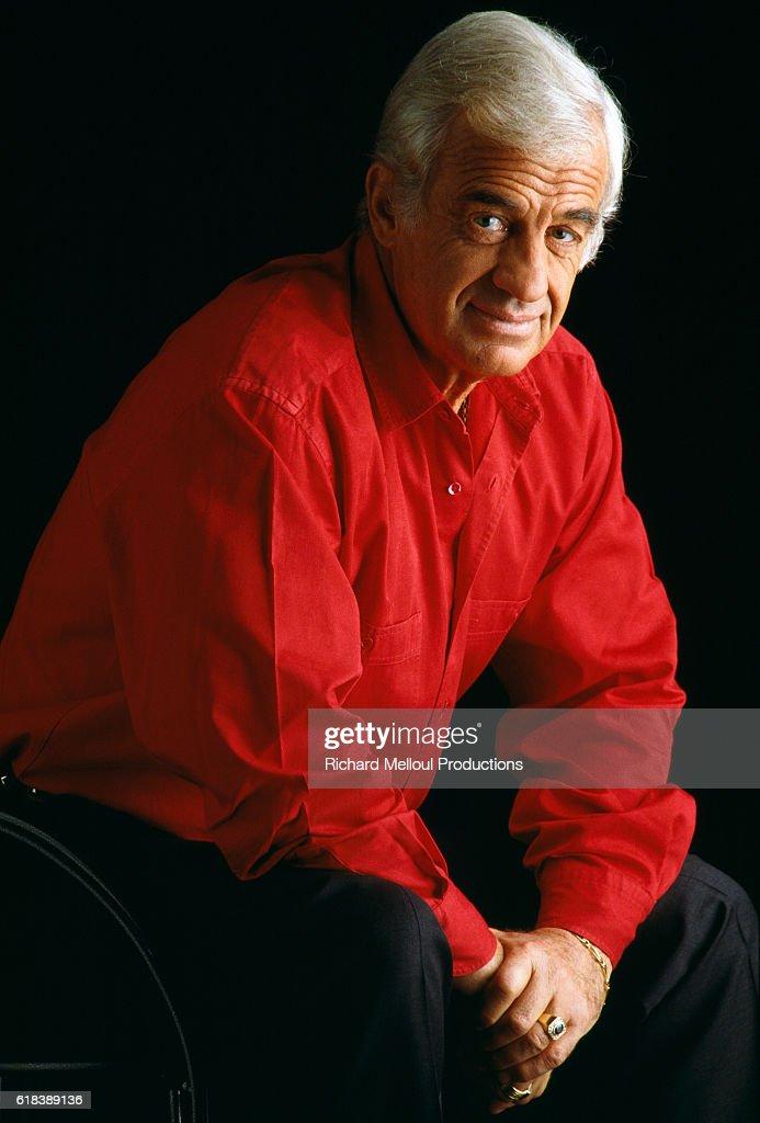 Actor Jean-Paul Belmondo : Photo d'actualité