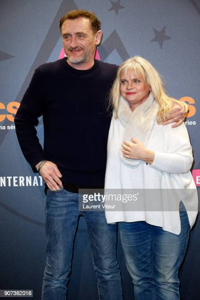 Actor JeanPaul Rouve and Actress Isabelle Nanty attend 'Les Tuches 3 Liberte Egalite FraterniTuche' Premiere during the 21st Alpe D'Huez Comedy Film...